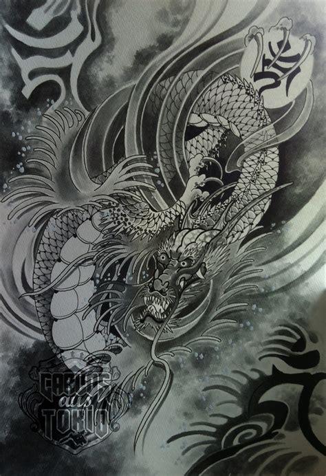 drawings 龍 dragon carlos 彫独逸 tattoo