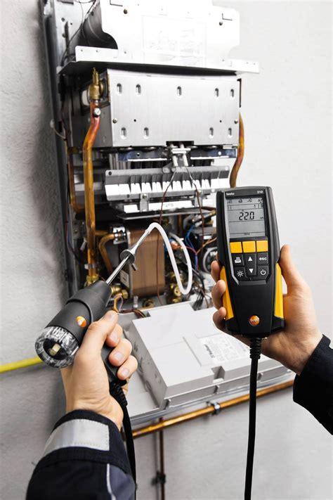 of testo testo 310 combustion analyzer combustion flue gas