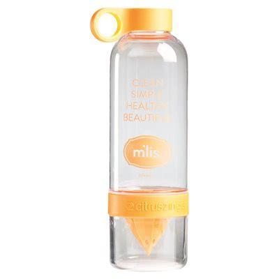 M Lis Detox Water Bottle by M Lis New Juicing Bottle W Lid