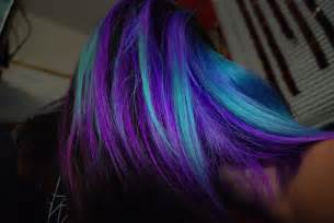 purple blue hair color blue colors hair purple image 279330 on favim
