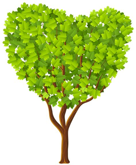 tree hearts tree with a clipart clipground