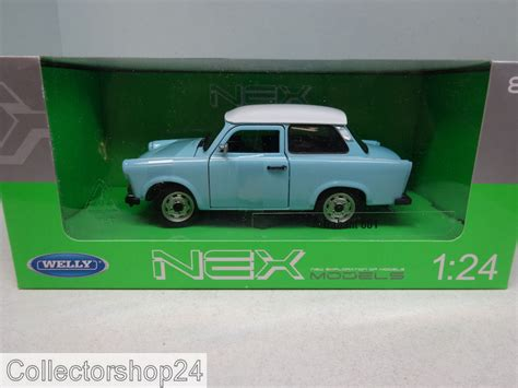 Auto L We by Welly Trabant 601 Light Blue White 1964 1990 24037sbl