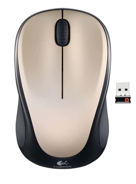 Mouse Wireless Merk Logitech logitech wireless mouse m235 chagne specificaties