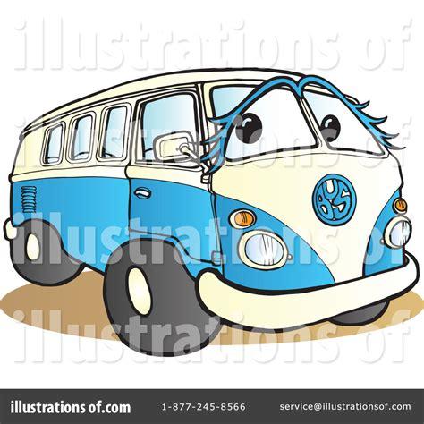 volkswagen hippie van clipart hippie van clipart 77971 illustration by snowy