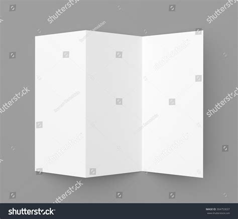 Tri Fold Card Stock Paper - leaflet blank trifold white paper brochure stock