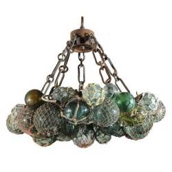 japanese chandeliers custom antique japanese fishing float led chandelier at