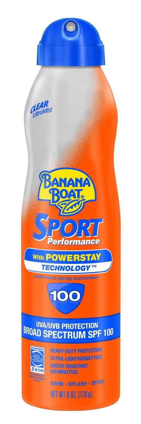 banana boat ultra protect spray banana boat sunscreen kids max protect play