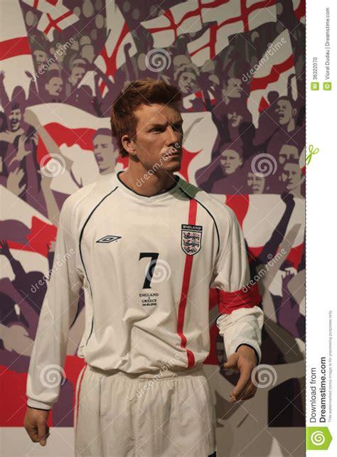 Beckham Is A Wax Figure No Kidding by David Beckham Editorial Image Image 36322070