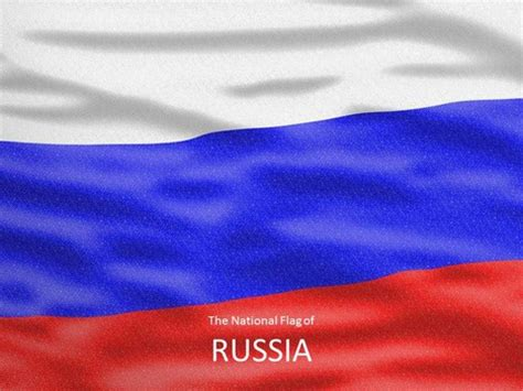 powerpoint templates russia flag of russia template