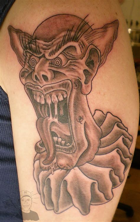 crazy tattoos the gallery for gt evil gangster clown drawings