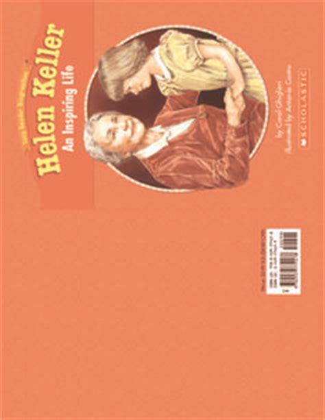 helen keller mini biography helen keller an inspiring life biography mini book