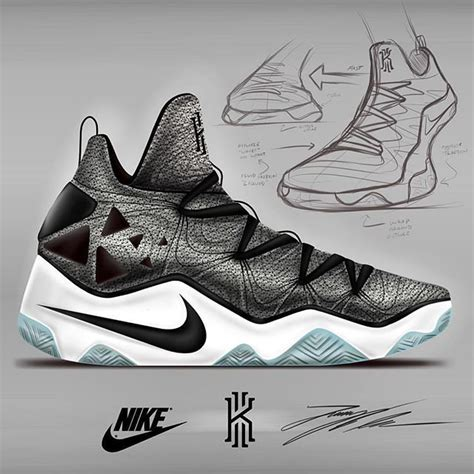 Kyrie 4 Sketches by Kyrie 3 Concept Nike Sneakers Sneakers