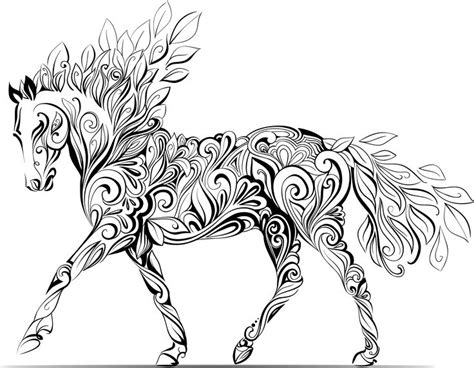 horse coloring pages for adults 107 best e coloring pages images on pinterest horses