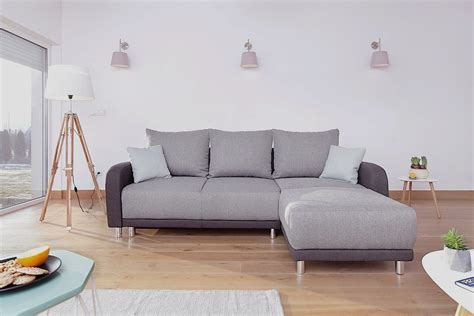 canape d angle bicolore canap 233 d angle scandinave convertible bicolore gris minty