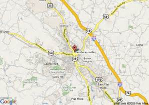 map of the waverly inn hendersonville