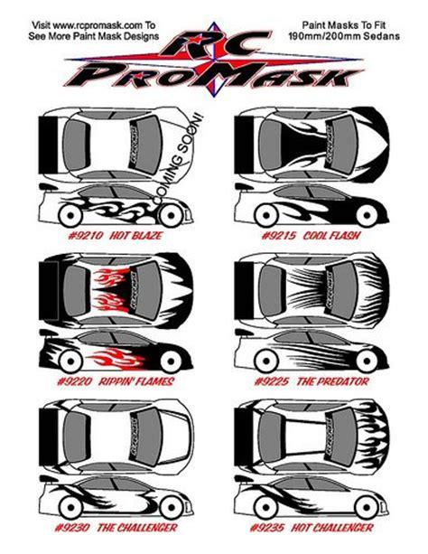 mask layout design jobs 102 best rc cars paint jobs images on pinterest car