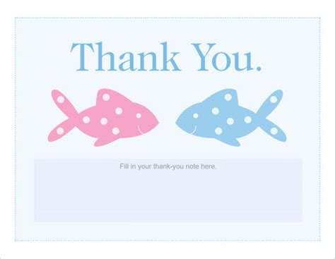 free thank you card templates baby shower 9 baby shower checklist sles sle templates