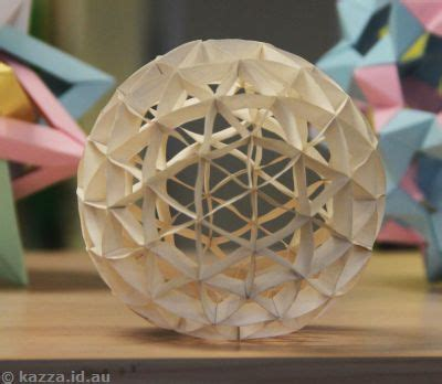 How To Make A 3d Sphere With Paper - paper craft category page 173 toocraft