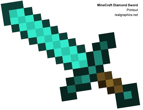 minecraft sword template search results for minecraft papercraft sword