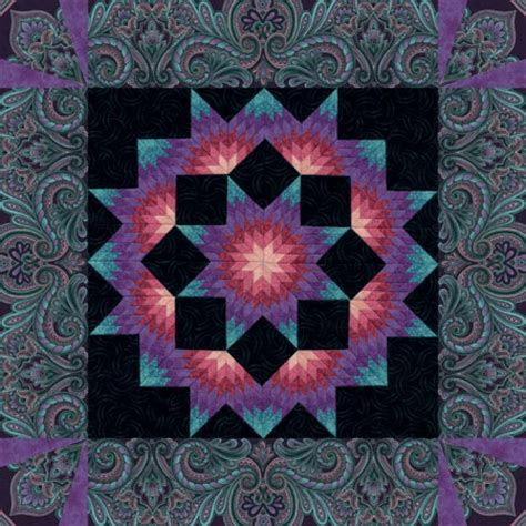 Starry Quilt Pattern by Pin Maple Leaf Rag Cover On