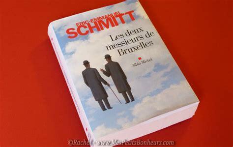 les deux messieurs de les deux messieurs de bruxelles nouvelles d eric emmanuel schmitt