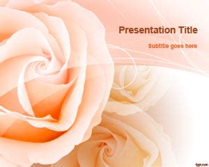 powerpoint templates free download funeral free peach roses powerpoint template free powerpoint