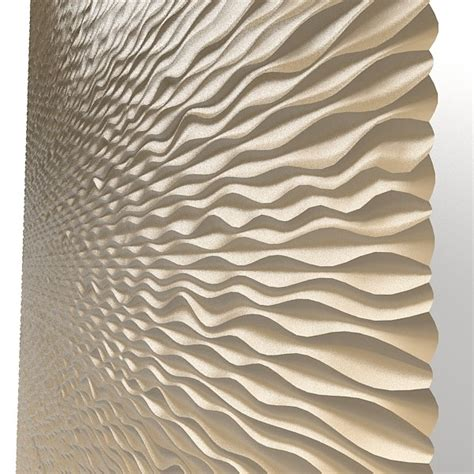 pattern wall board panel decorative 3d wave mdf modern laser perforated wall