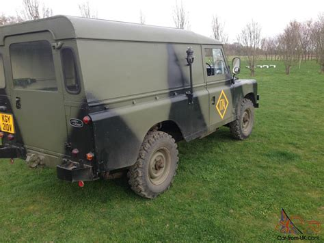 military land land rover series 3 ffr 109 quot ex military