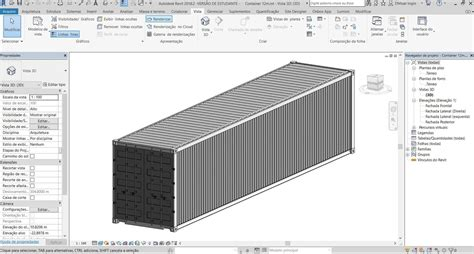 revit shipping container model turbosquid
