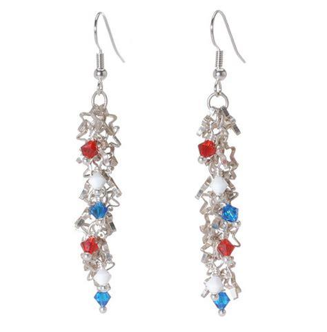 how to make patriotic jewelry tutorials ii the beading