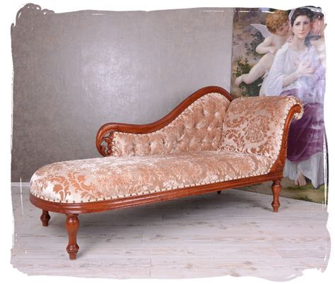 ottomane antik empire recamiere chaiselongue gigantisches sofa ottomane