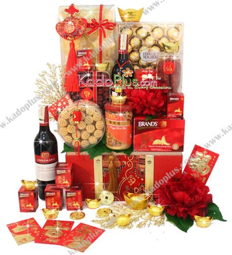 Chinese New Year Hamper: Bountiful Treasures   Toko Bunga