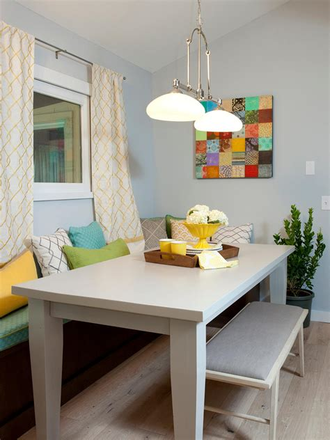 How To Decorate A Kitchen Table Small Kitchen Table Ideas Pictures Tips From Hgtv Hgtv