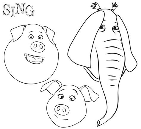 printable coloring pages cing sing coloring pages best coloring pages for kids