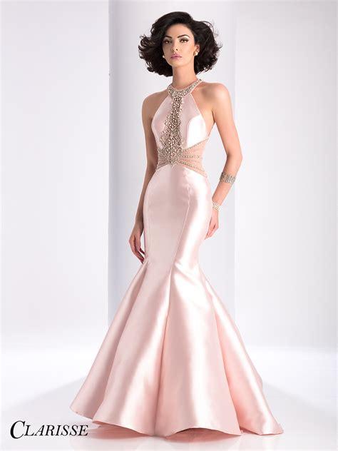 beaded mermaid dress clarisse beaded mermaid prom dress 3139 blush pink prom