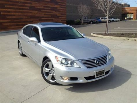 automobile air conditioning service 2010 lexus ls electronic toll collection sell used 2010 lexus ls460l low miles loaded in west sacramento california united states for