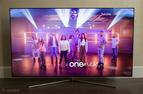 samsung qled qf  tv review qled     flying start