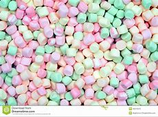 Colorful mini marshmallows stock image. Image of delicious ... Junk Food Background