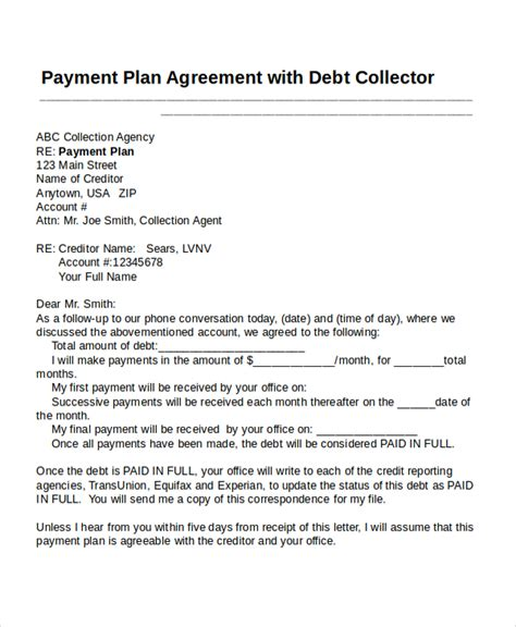 settlement agreement payment terms choice image agreement