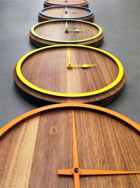 wood clock designs 25 best ideas about wooden clock on