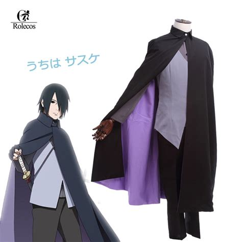 Jaket Anime Uchiha Sasuke Itachi costume customized suit anime store