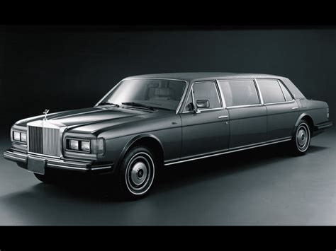rolls royce 80s 1980 1989 rolls royce silver spur limousine supercars