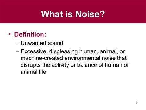 Of Noise Gs Ch 10 Noise Pollution