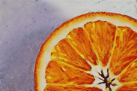 Orange Painting | orange 06 complete michael king