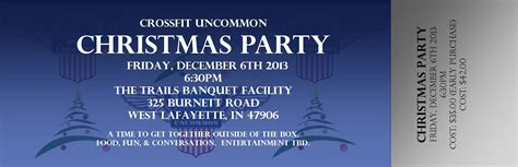 announcing the uncommon christmas party december 6th