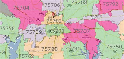 texas map zip codes tx zip code map