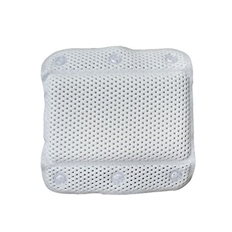 best bathtub pillow best token waterproof bath and spa pillow with suction