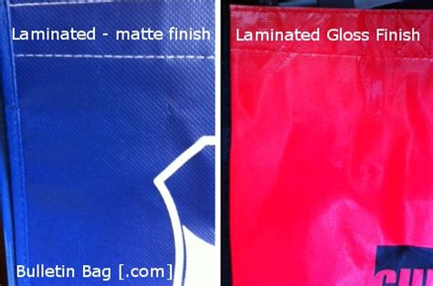 Which Is Better Glossy Or Matte Lamination - choose a reusable shopping bag with these steps bulletin