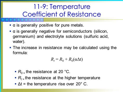 temperature coefficient of resistors temperature coefficient of resistors 28 images electronics notes temperature coefficient of