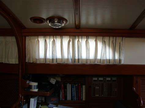 boat cabin curtains build a cabin boat 187 design and ideas